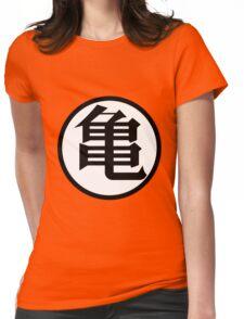 Kanji Kame Turtle - Dragon Ball / DBZ Womens Fitted T-Shirt