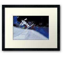 Jump 2 Framed Print