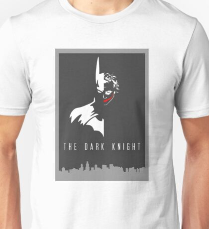 Batman/Joker - The Dark Knight Unisex T-Shirt