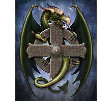 Celtic Dragon Photographic Print