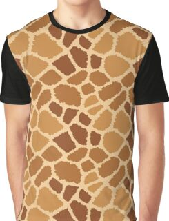 Giraffe Fur Texture Graphic T-Shirt