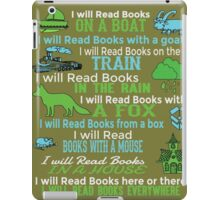 I will read books on a boat... iPad Case/Skin