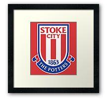 Stoke City Framed Print