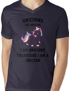 I am a unicorn Mens V-Neck T-Shirt