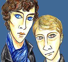 Sherlock Modigliani by PavelPepin