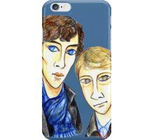 Sherlock Modigliani iPhone Case/Skin