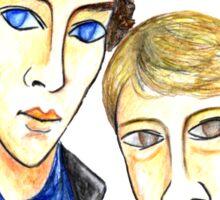 Sherlock Modigliani Sticker