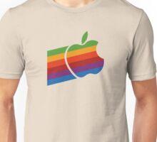 Apple Retro Logo Unisex T-Shirt