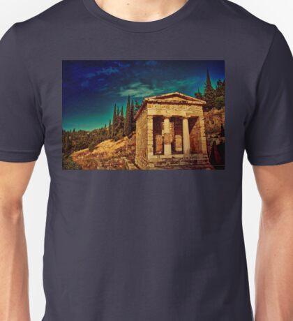 Greece. Ancient site of Delphi. Unisex T-Shirt