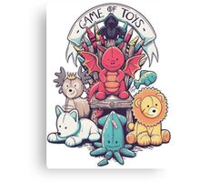 Game of Thrones - Game of Toys Canvas Print