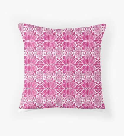 Bromeliad Flower Throw Pillow