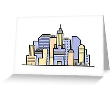 New York How I met your mother Greeting Card