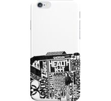 Survival Guide (black) iPhone Case/Skin