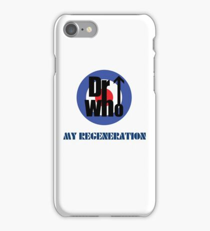 Dr Who My Regeneration iPhone Case/Skin