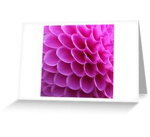 Pink Puzzle Greeting Card