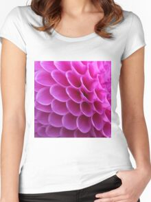 Pink Puzzle Women's Fitted Scoop T-Shirt