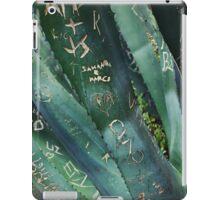 agave iPad Case/Skin