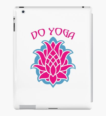 Do yoga iPad Case/Skin