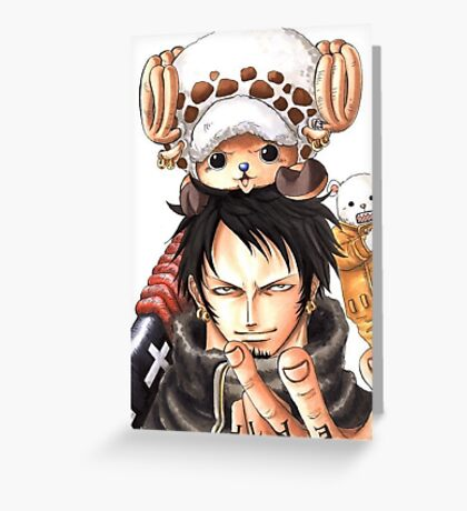 One Piece Greeting Card