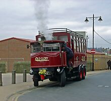 Elizabeth, Steam Bus at Whitby by Rod Johnson