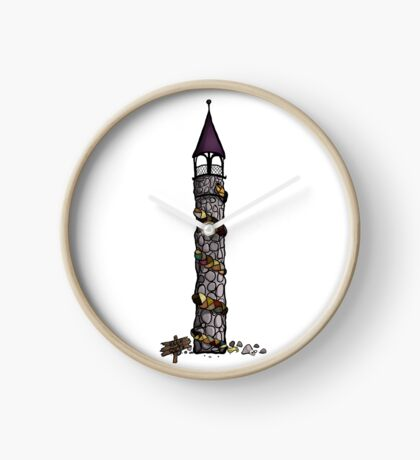 Rapunzel- 'A Darker Tower' Clock