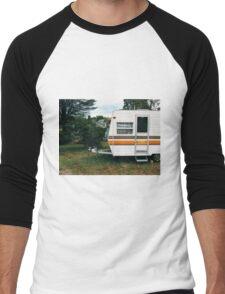 Vintage Trailer Old and Loved Men's Baseball ¾ T-Shirt