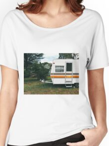 Vintage Trailer Old and Loved Women's Relaxed Fit T-Shirt