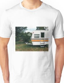 Vintage Trailer Old and Loved Unisex T-Shirt
