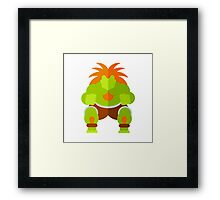 The Electric Beast Framed Print