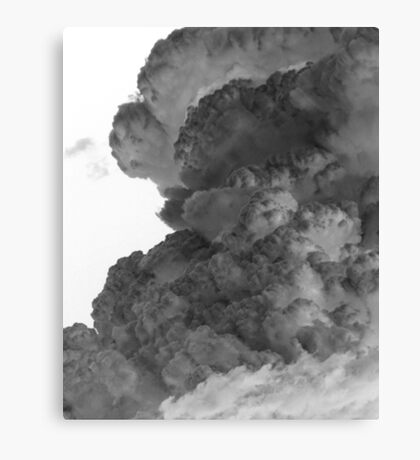 Negations 01 (cloud) Canvas Print
