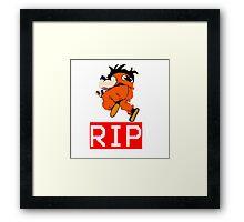 RIP TEE Framed Print