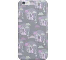 Cute pattern of christmas tree iPhone Case/Skin
