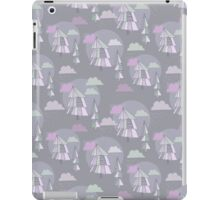 Cute pattern of christmas tree iPad Case/Skin