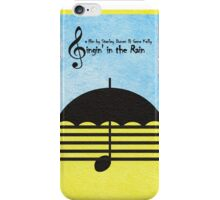 Singin' in the Rain iPhone Case/Skin