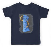 the blue tower Kids Tee