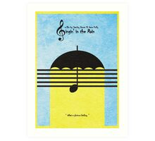 Singin' in the Rain Art Print