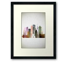 Tokyo city Framed Print