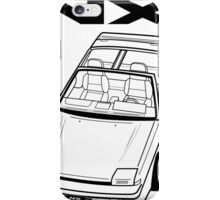 Nissan Pulsar NX Action Shot (LHD) iPhone Case/Skin