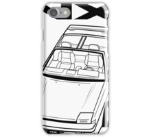 Nissan Pulsar NX Action Shot (LHD) iPhone Case/Skin