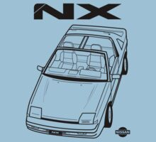 Nissan Pulsar NX Action Shot (LHD) One Piece - Short Sleeve