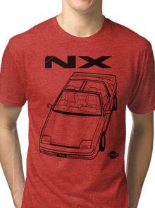 Nissan Pulsar NX Action Shot (LHD) Tri-blend T-Shirt