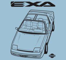 Nissan Exa Action Shot (LHD) One Piece - Short Sleeve