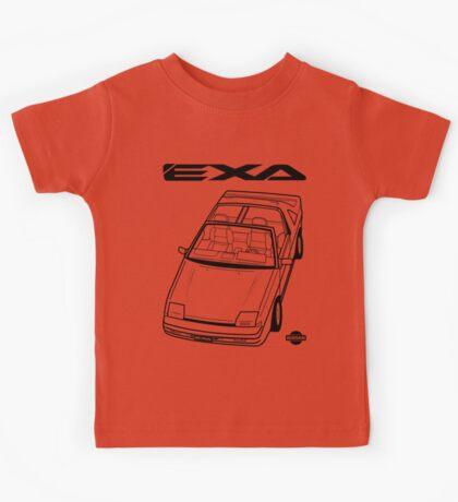 Nissan Exa Action Shot (LHD) Kids Tee