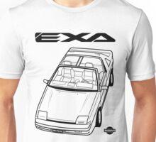 Nissan Exa Action Shot (LHD) Unisex T-Shirt