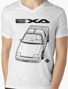 Nissan Exa Action Shot (LHD) Mens V-Neck T-Shirt