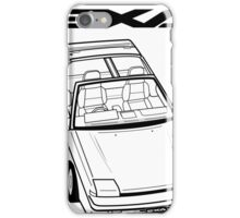 Nissan Exa Action Shot iPhone Case/Skin