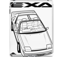 Nissan Exa Action Shot iPad Case/Skin