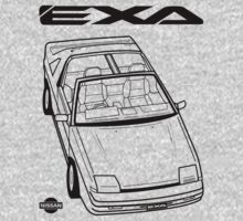 Nissan Exa Action Shot Kids Clothes