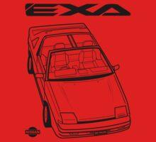 Nissan Exa Action Shot Kids Clothes