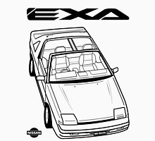 Nissan Exa Action Shot Unisex T-Shirt